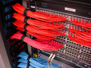 cabling patch panel